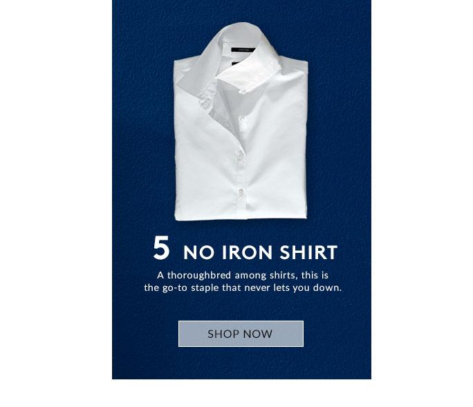 No Iron Shirt