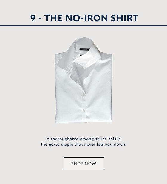 The No-Iron Shirt