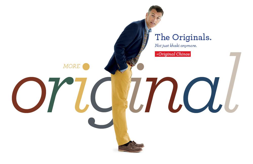 £5 off Original Chinos