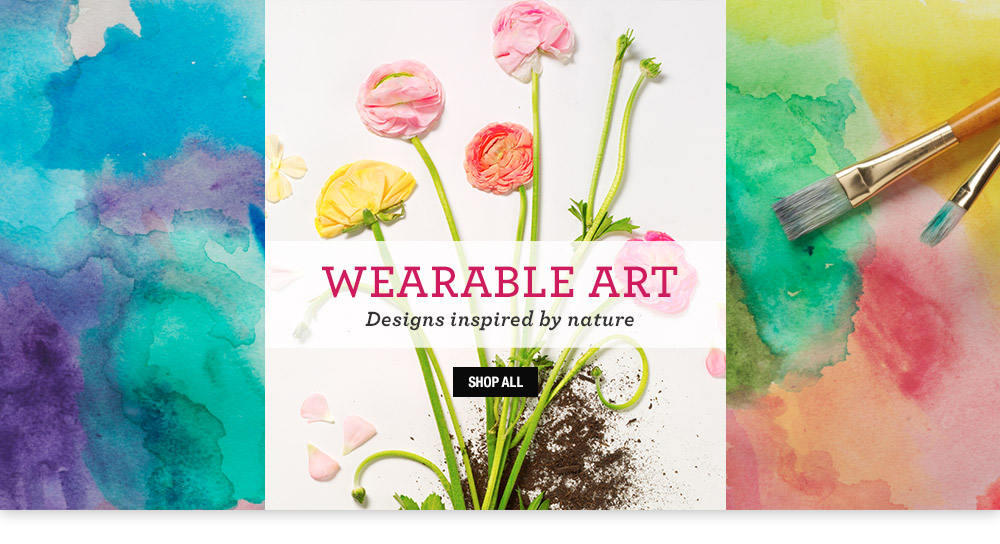 wearable art - designs inspired by nature