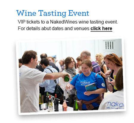 naked wines - wine tasting