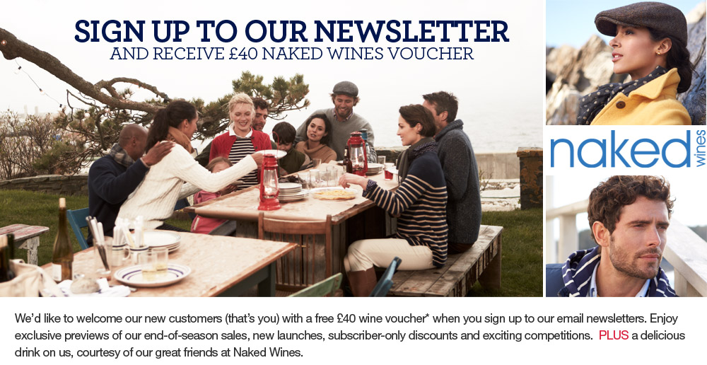Naked Wines £40 voucher