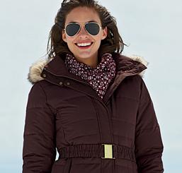 Women's Modern Down Coat