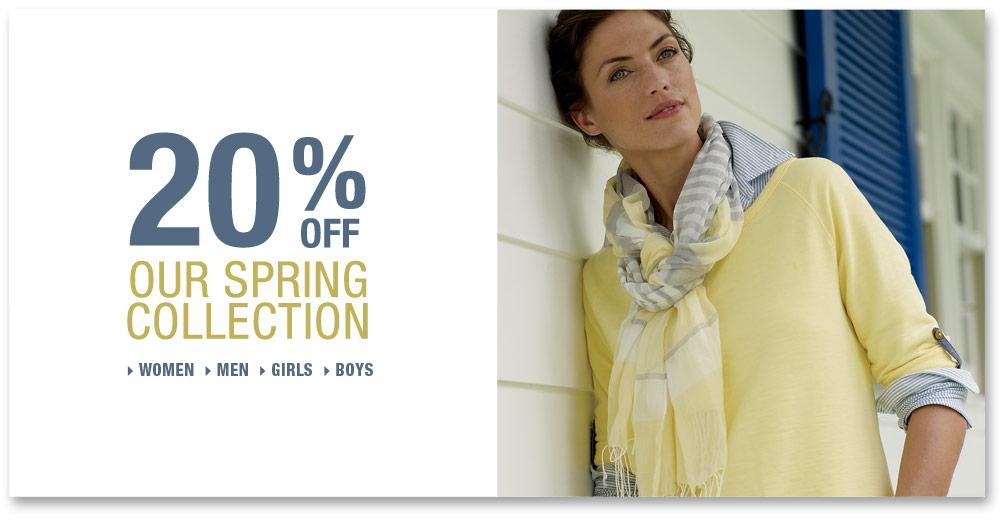 25% off our spring collection