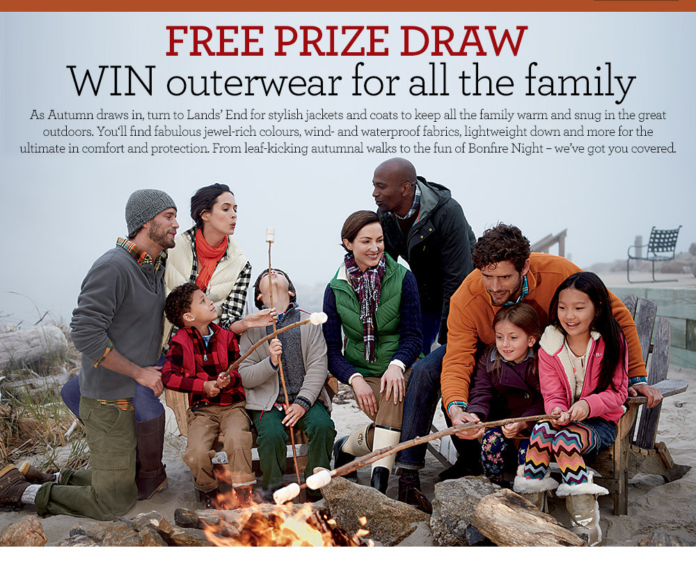 win outerwear for the whole family
