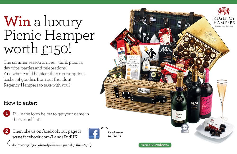 Win a luxury hamper worth £150