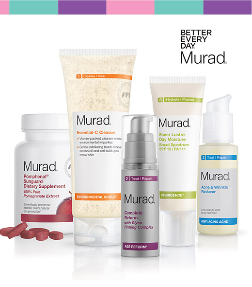 Murad skincare kit free with lands' End