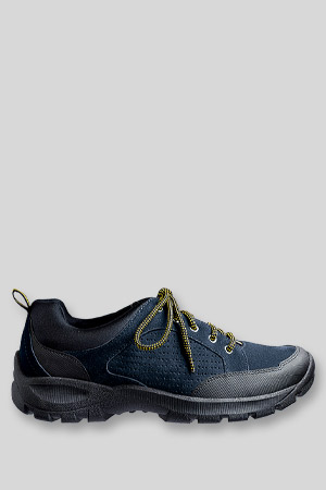 Men's Wide Everyday Lace-up Suede Shoes