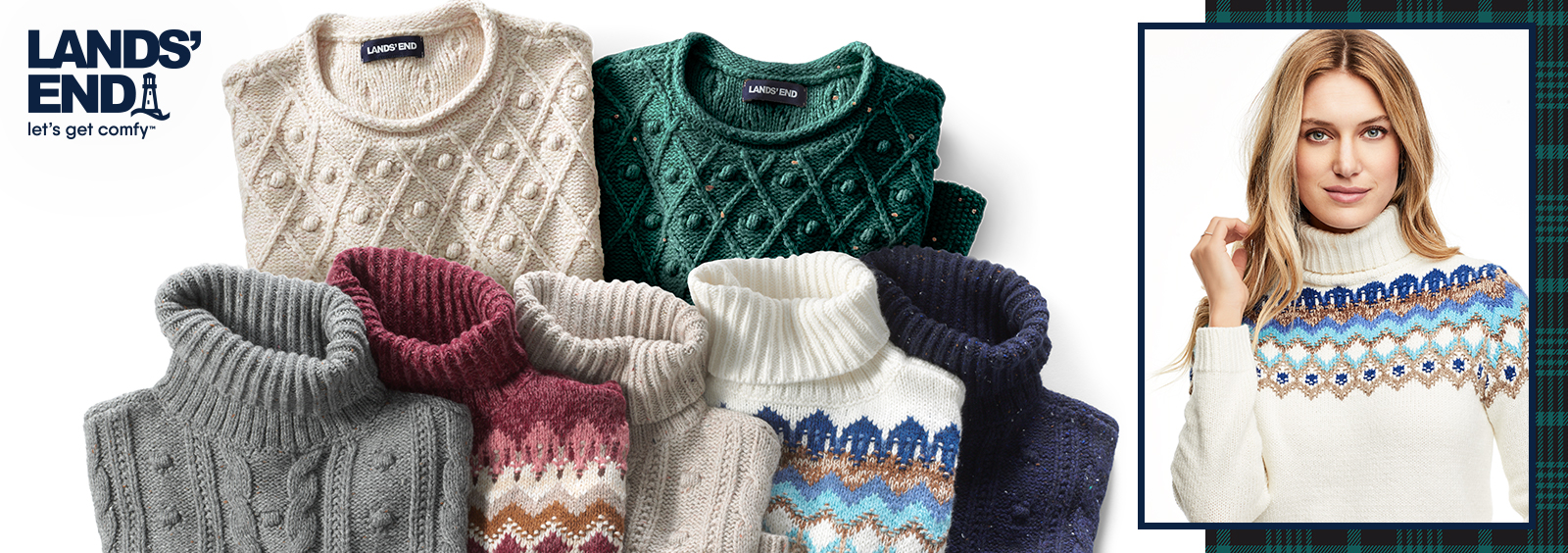How to Tuck in a Chunky Sweater