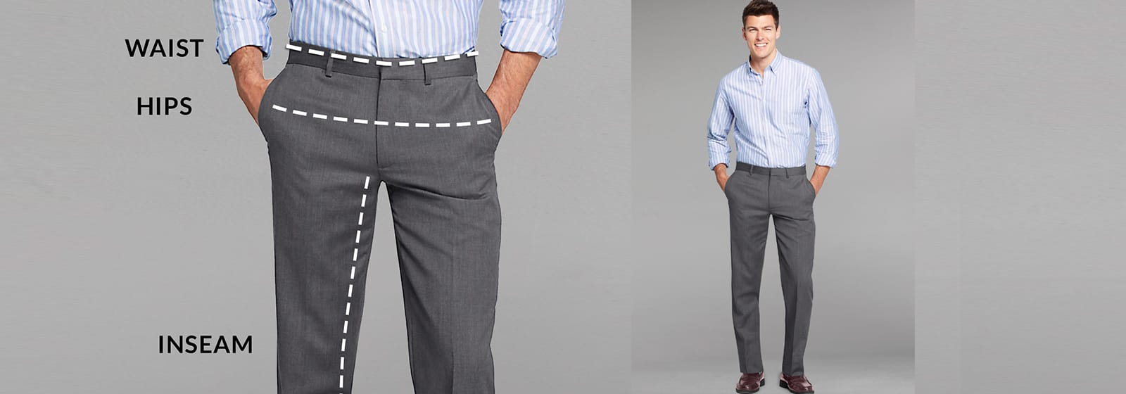 How to Measure Pants for Men