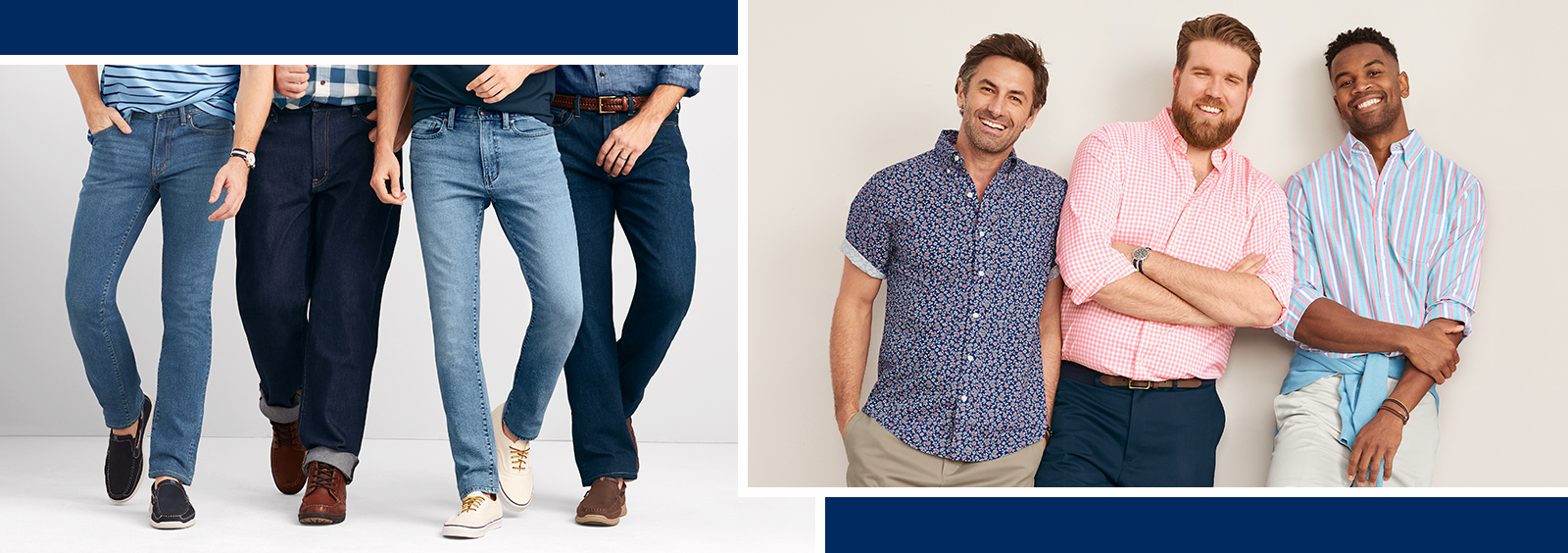 Big and Tall Jeans vs. Khakis: Which Are Best?