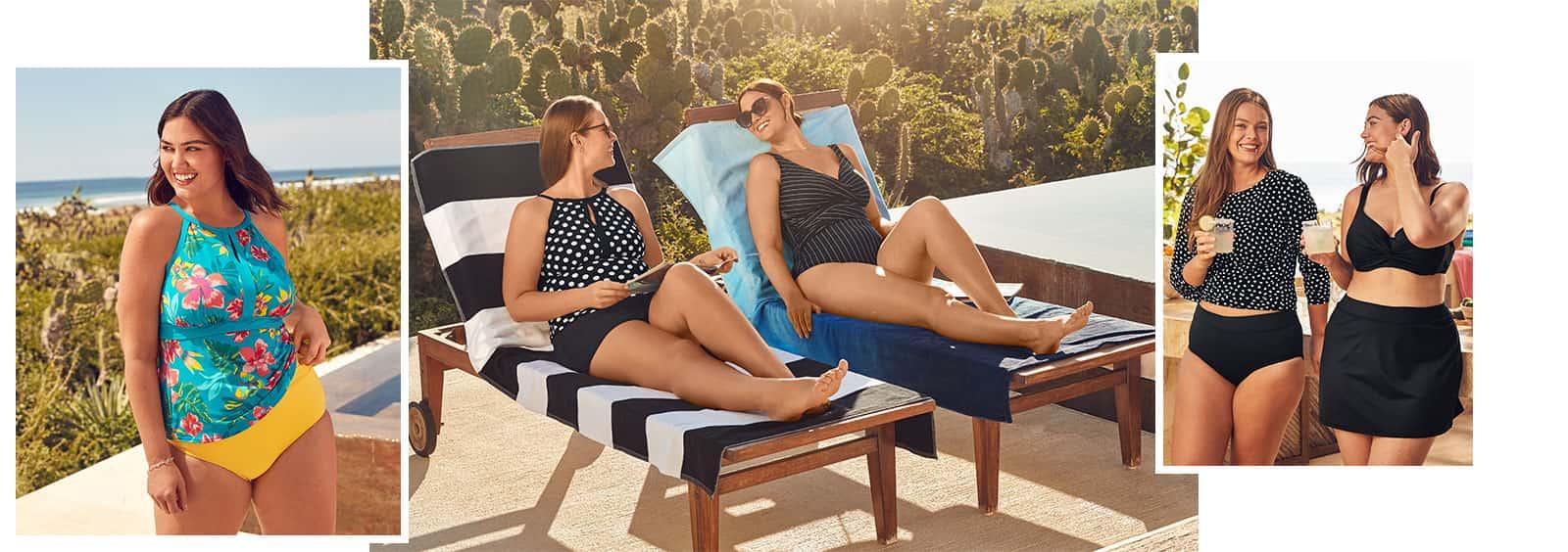 Celebrate Your Curves: Figure Flattering Swimwear for Plus Size Women