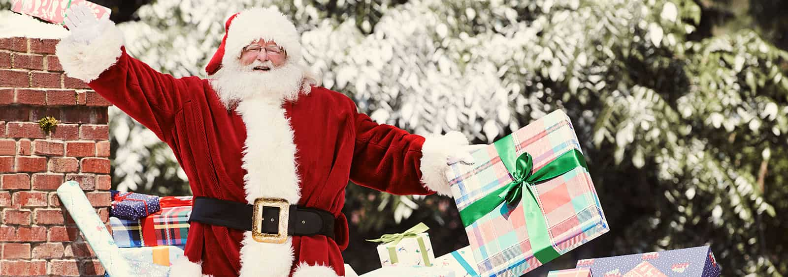 secret santa gift giving