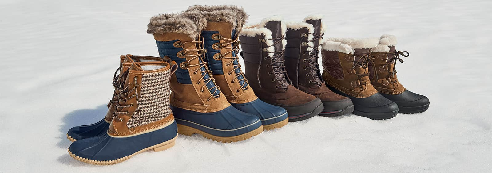 Women's Winter Boots for Slippery Conditions