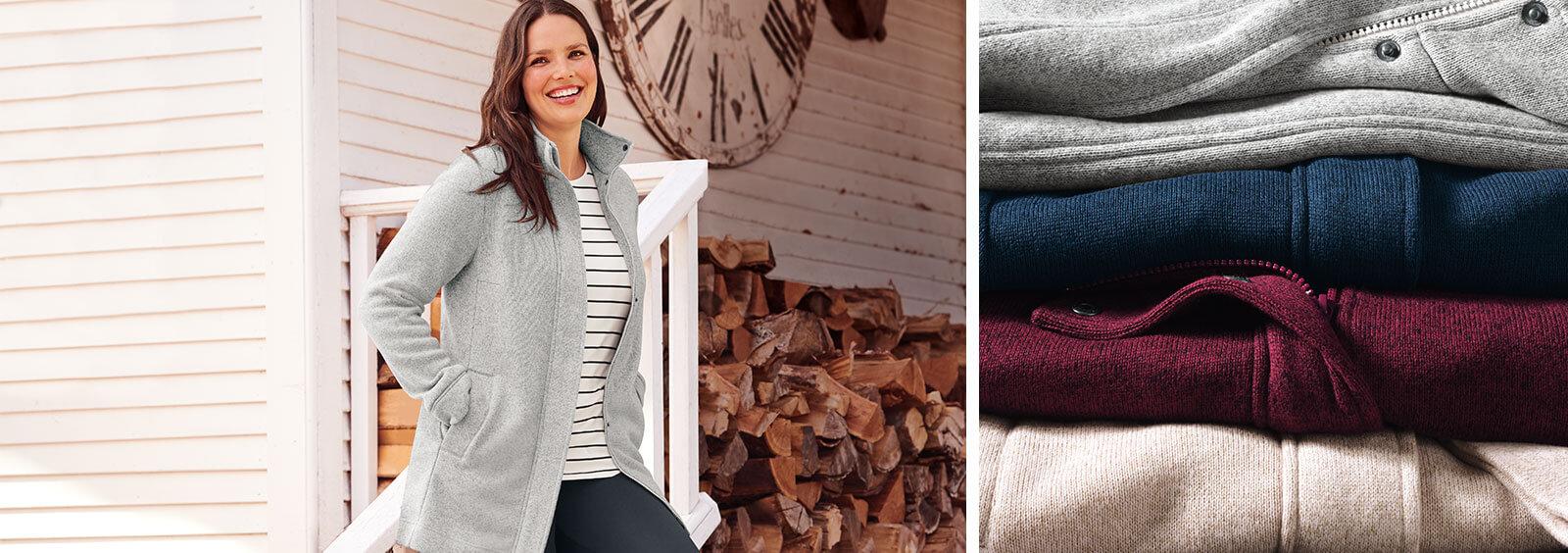 Warm & Windproof - Best Fleece Jackets for Women