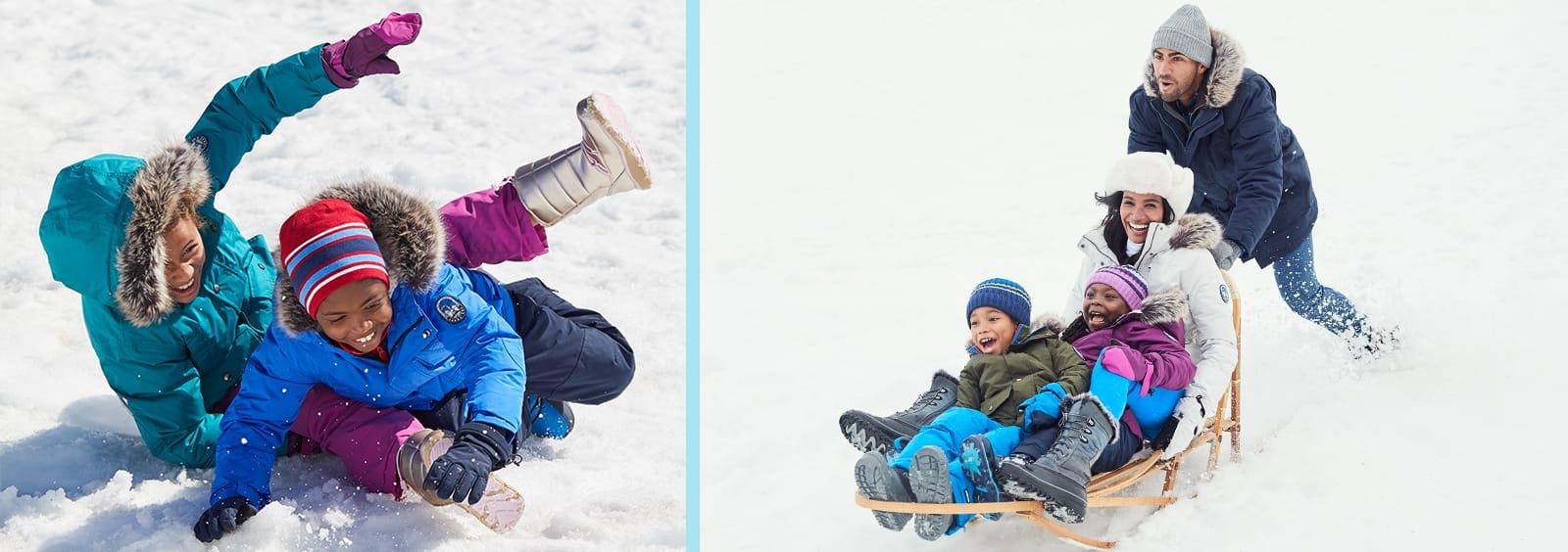 Best Warm Winter Coats for Girls   Lands' End