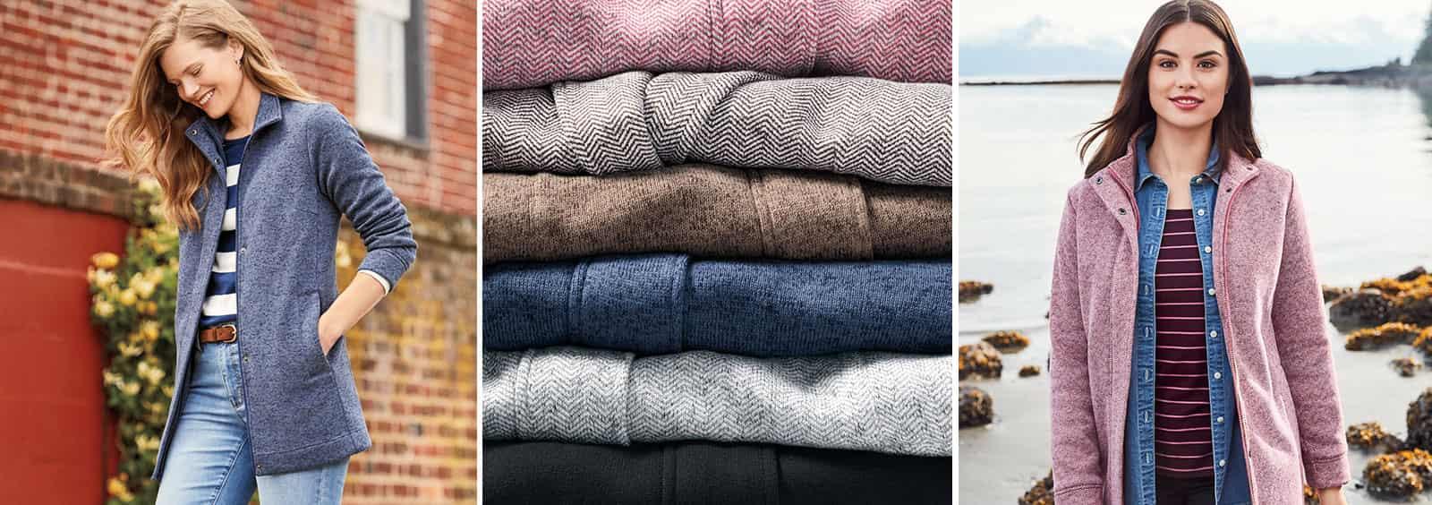 Ways to wear fleece