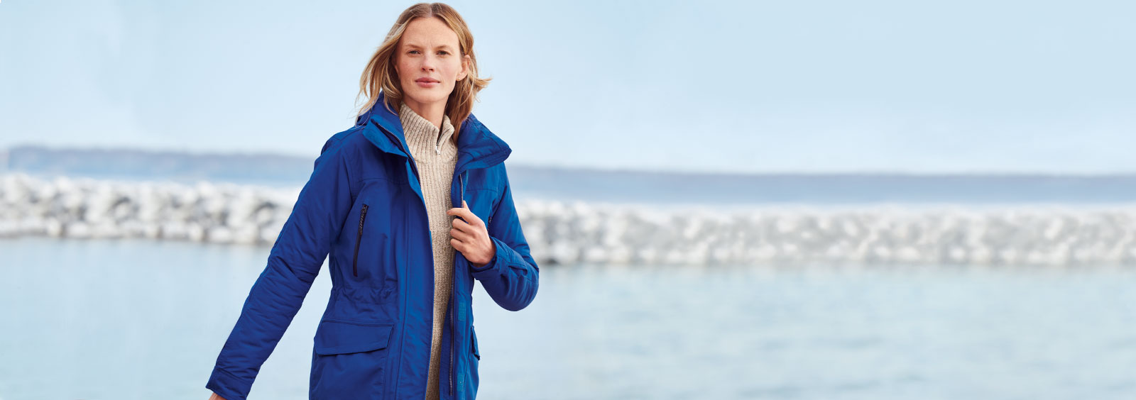 Lands' End Tips: How to Dress for Cycling in Cold Weather