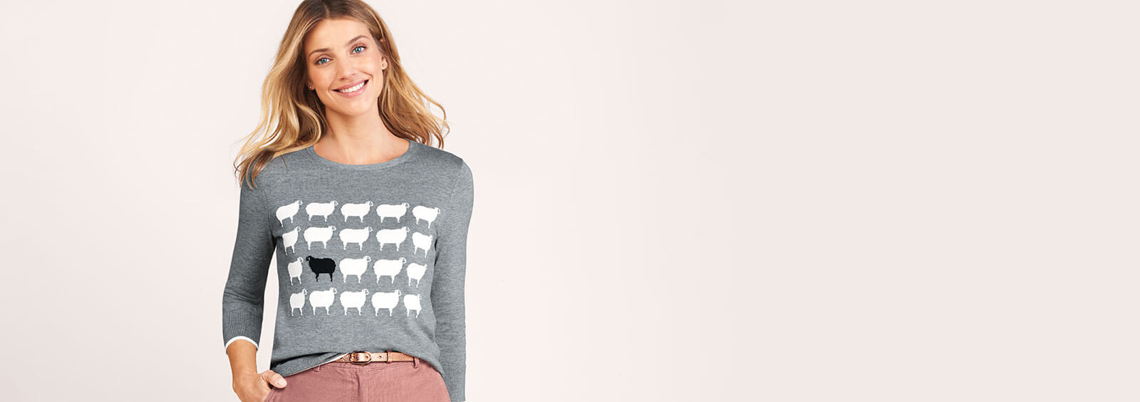 Sheep Sweater - Story of Black Sheep Sweater | Lands' End