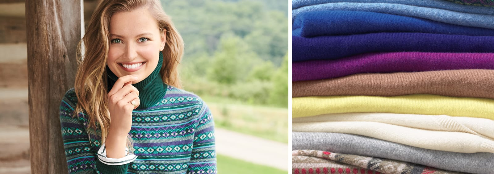 Ways To Wear and Style Cashmere Sweaters