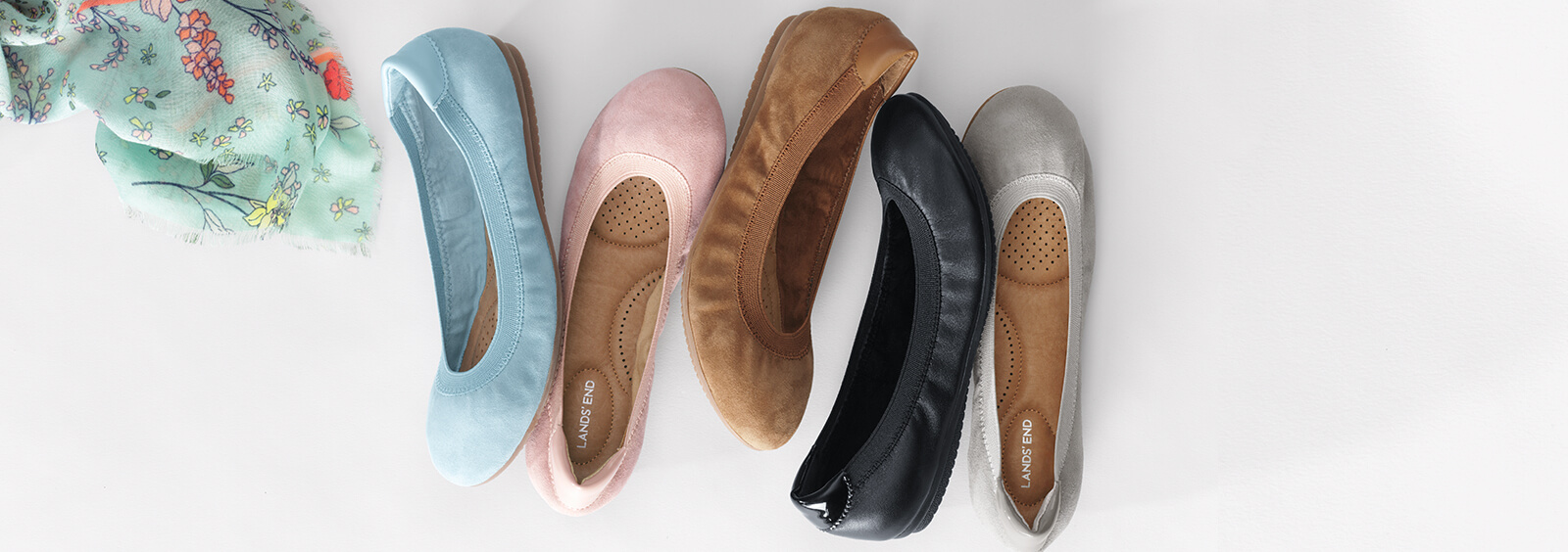 Women's Flats to Keep You Comfortable and Stylish at Work   Lands' End