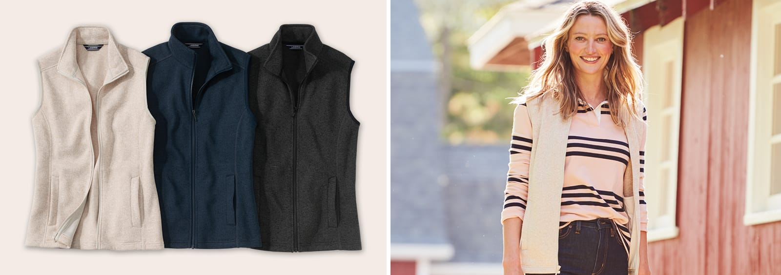 When and How to Wear a Fleece Vest