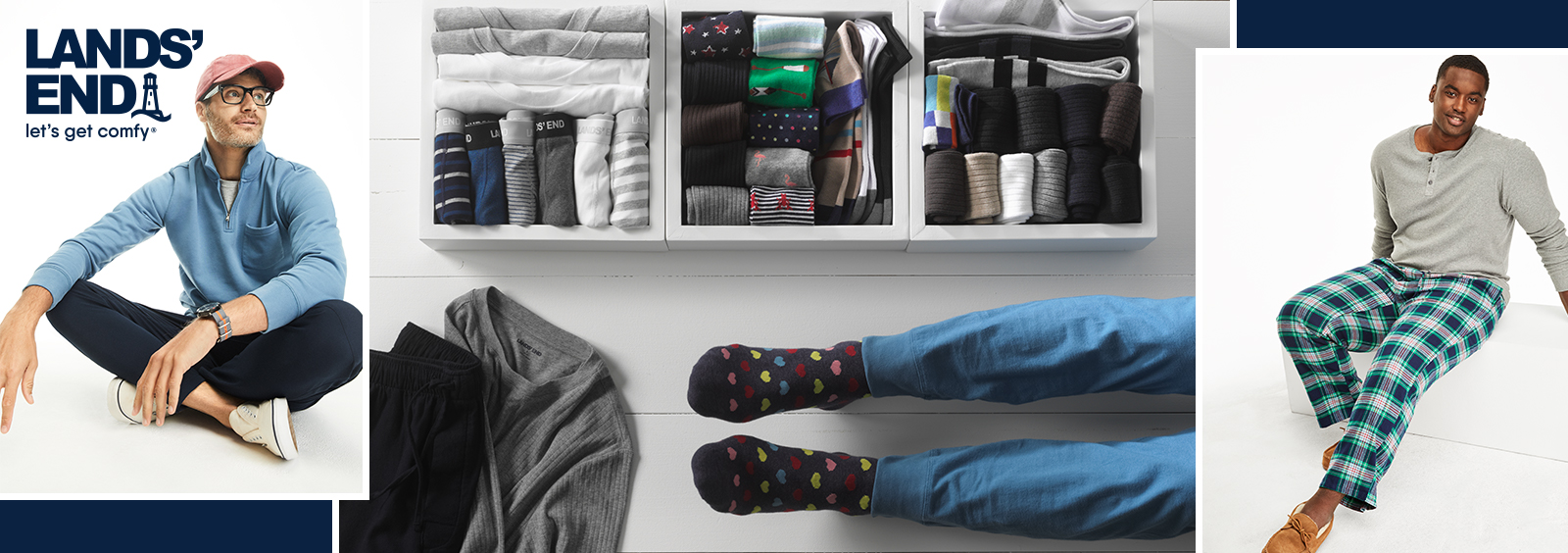 How to Dress Up Men's Loungewear for Working from Home