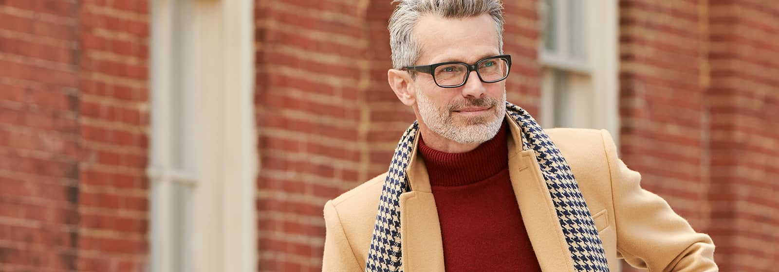 Have Your Man Rock a Turtleneck This Fall