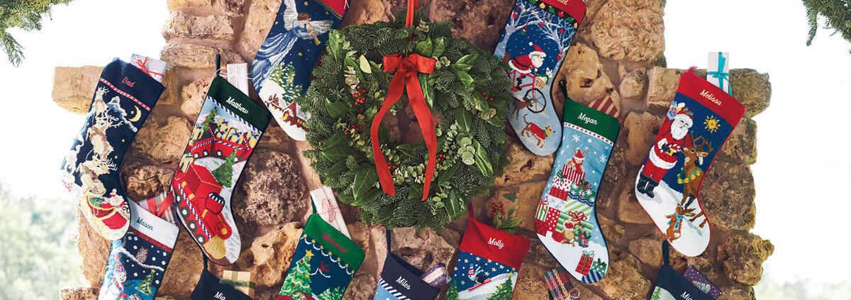 Why a Needlepoint Stocking is the Perfect Secret Santa Gift