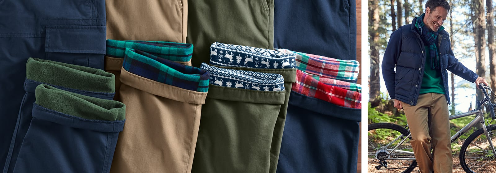 Flannel Lined Pants:  The Thing You Never Knew You Needed | Lands' End
