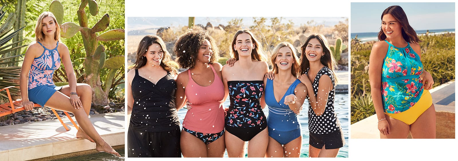 Skirted Bathing Suits vs. Bathing Suits with Shorts | Lands' End