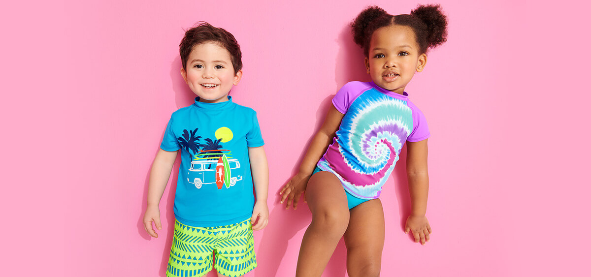 6 Sun Protection Swimsuits for Toddlers