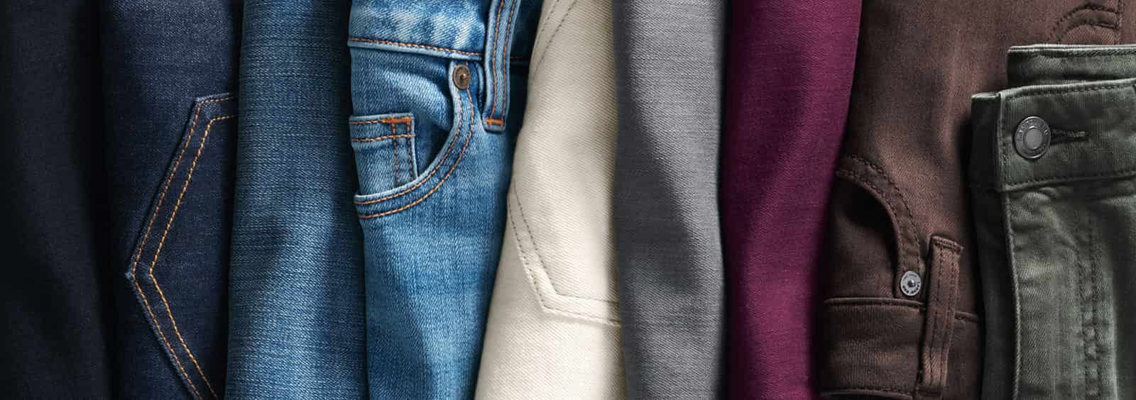 Pull-on vs. Mid-Rise Jeans: Which Is Best for You? | Lands' End