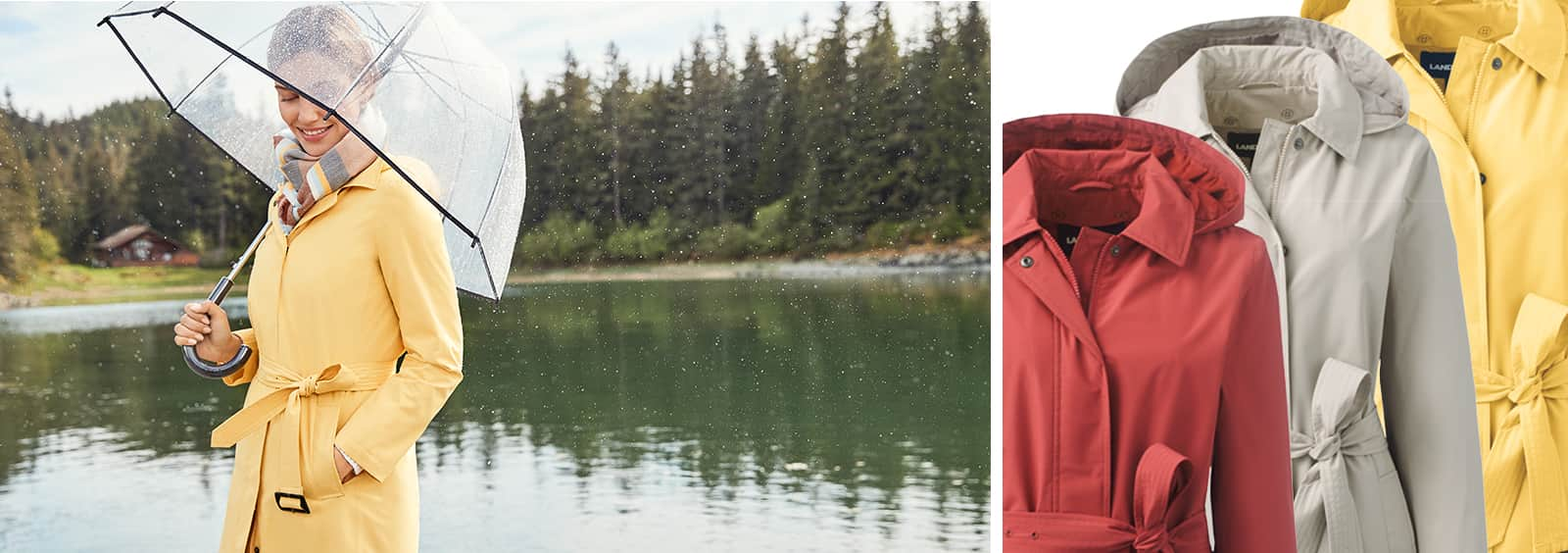 How to Beat the Rainy Day Blues: Women's Jackets to Keep You Dry
