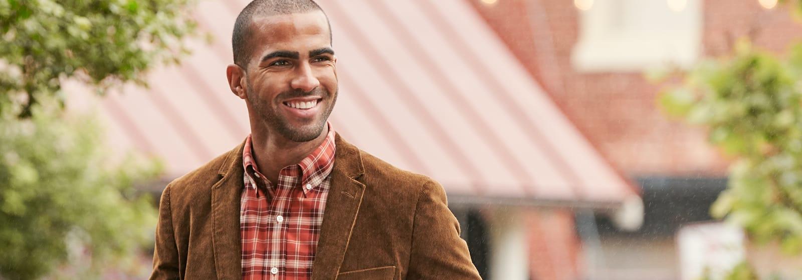 Are Men's Corduroy Blazers Still in Style?