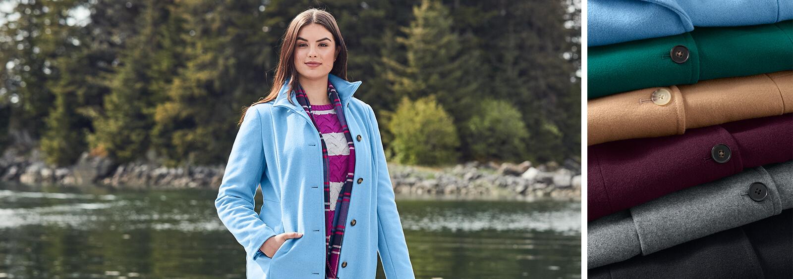 Plus Size Fall Coats for Women