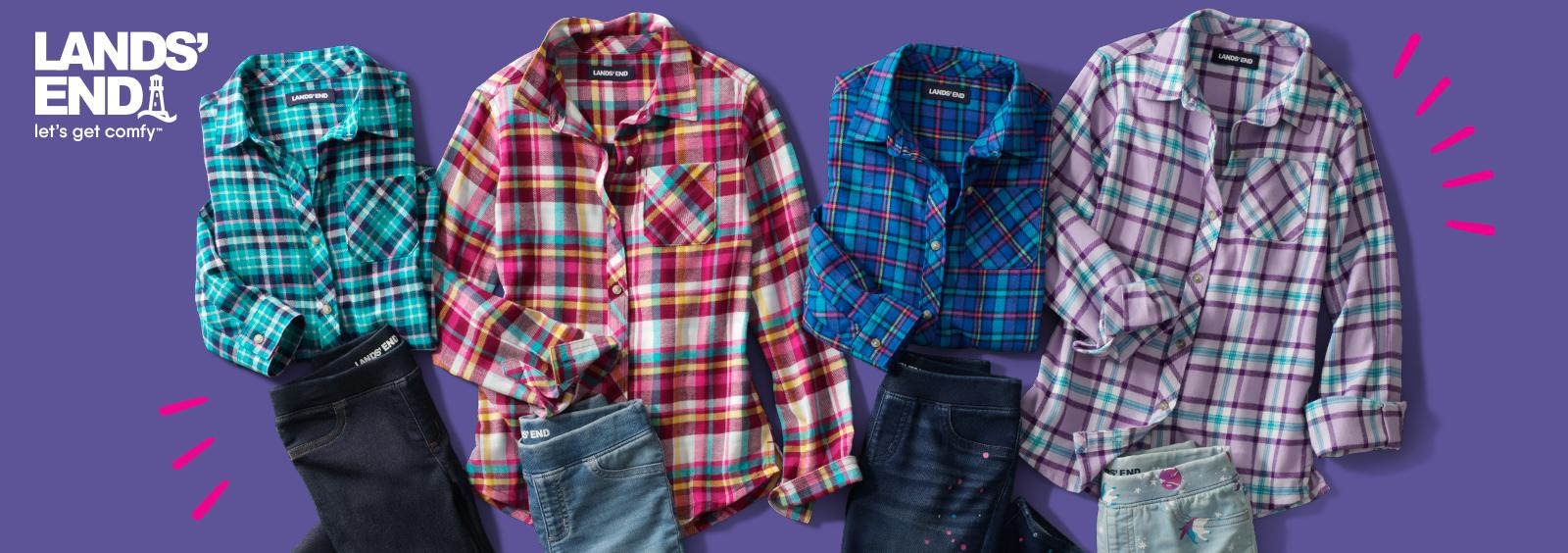 Best Girls' Flannel Shirts for School