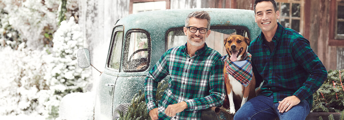 Stay Warm this Fall with a Men's Flannel Shirt | Lands' End