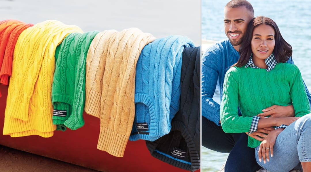 His and Hers Christmas Sweaters | Lands' End
