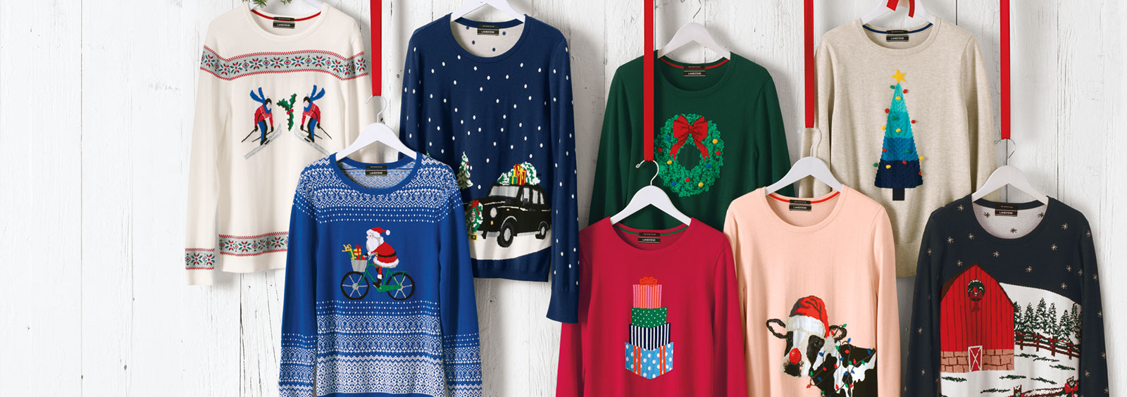 Christmas Sweaters - How To Wear At Work | Lands' End