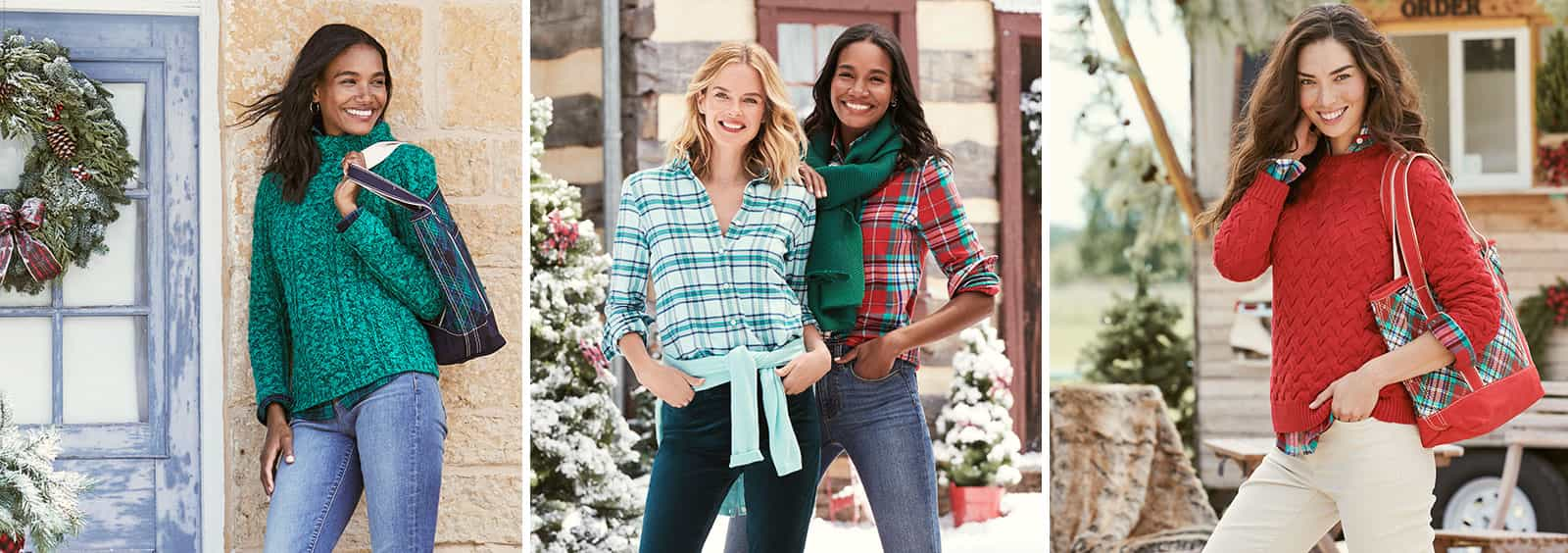 Sparkles, Velvet and More: How to Elevate Your Holiday Style | Lands' End