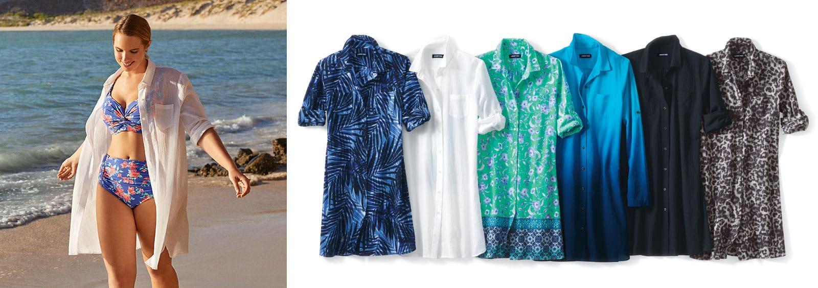 Best Plus Size Swim Dresses That You'll Love