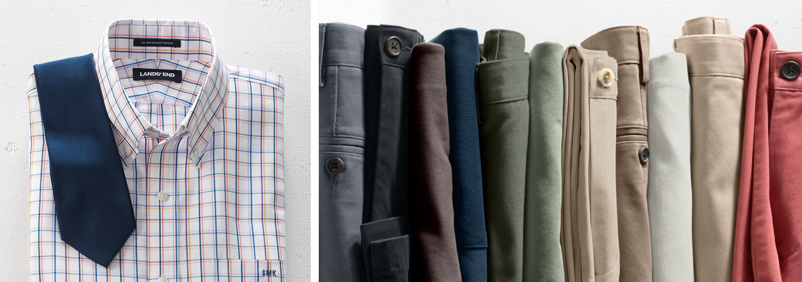 How to Pair Men's Dress Shirts with Pants