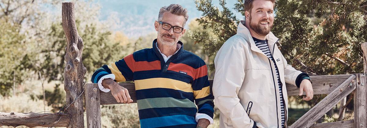 Men's Layering Tips for Spring