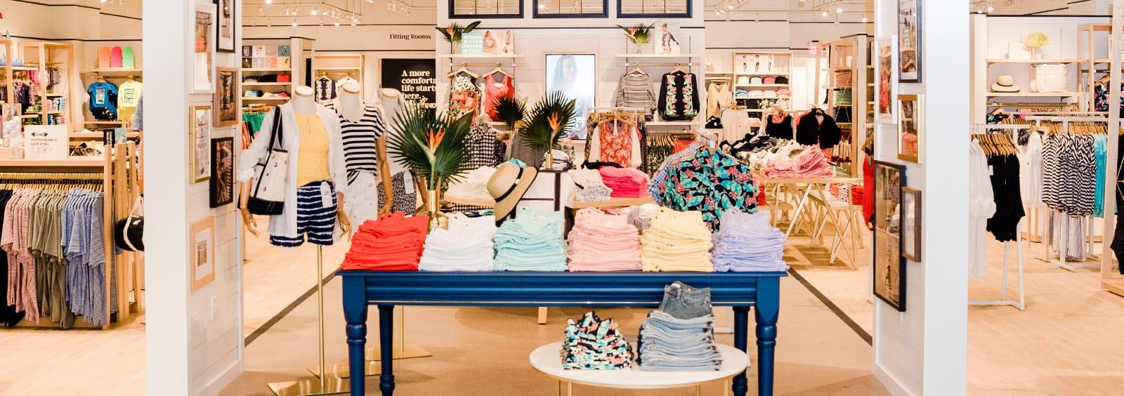 Lands' End retail store