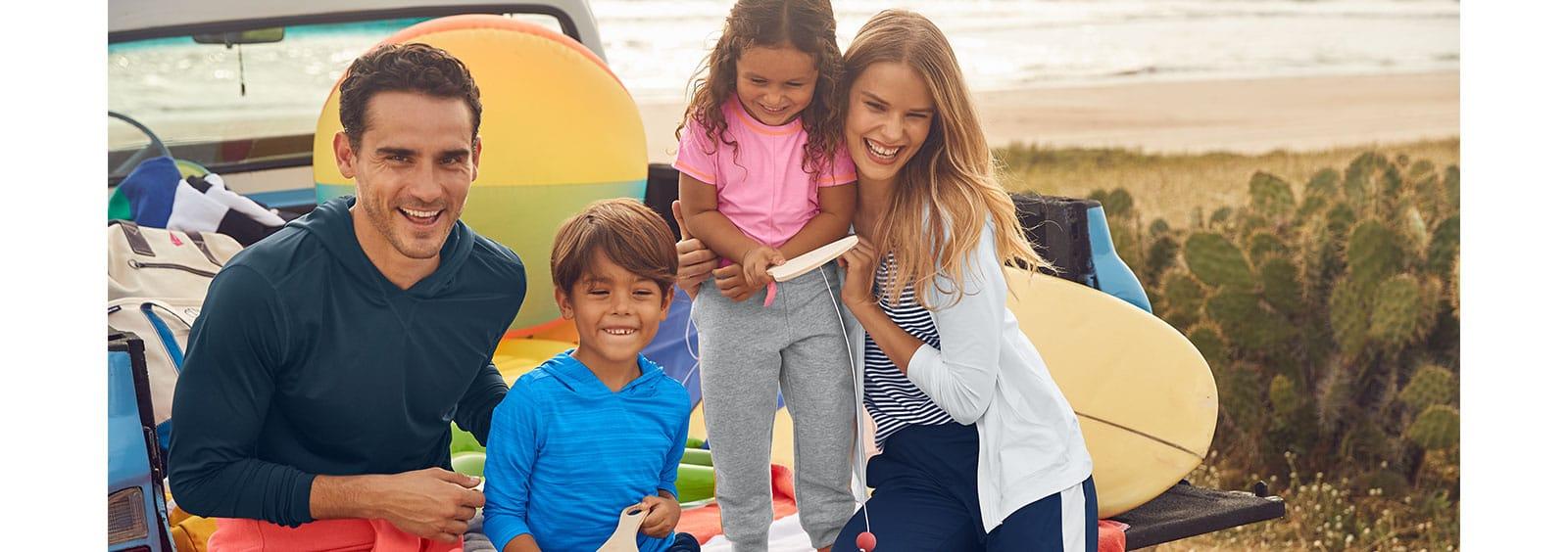 Family Essentials for Spring Break 2020   Lands' End