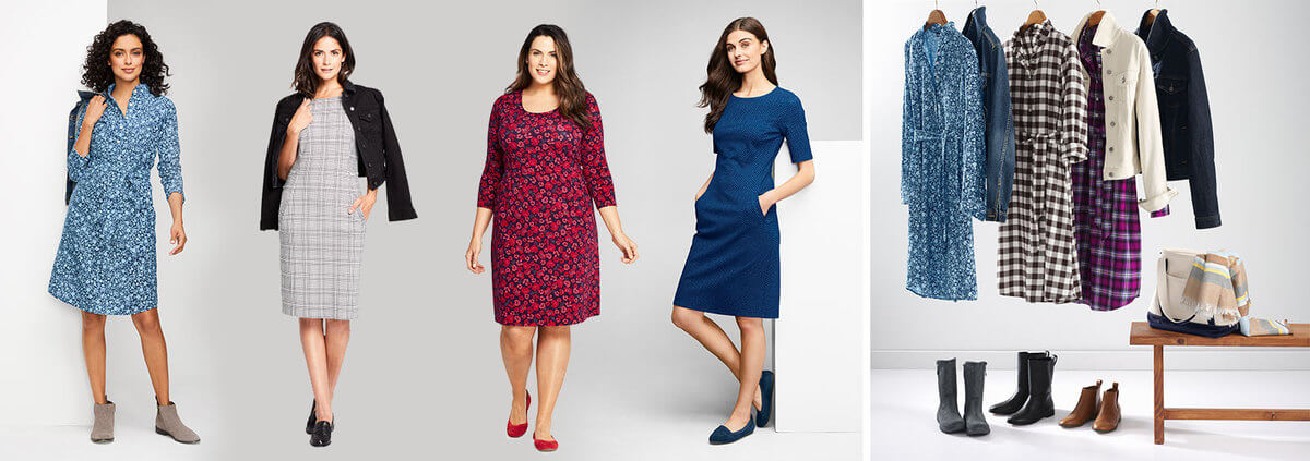 The 5 Different Dresses Every Woman Needs for Every Occasion   Lands' End