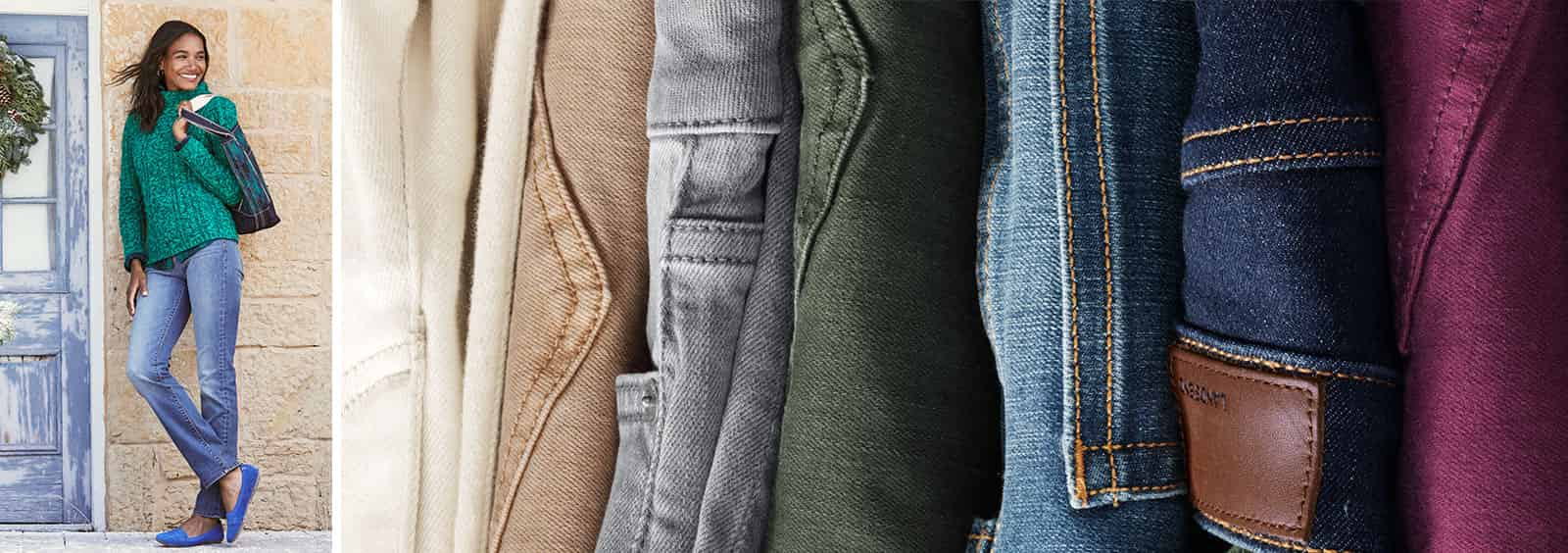 Guide to Picking Mid-Rise Straight-Leg Jeans
