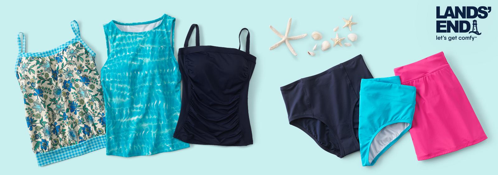 Most Flattering Swimsuits for Seniors