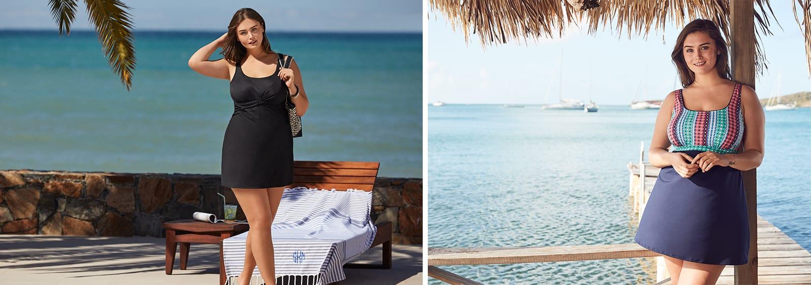 Are Swim Dresses Good for Curvy Figures?